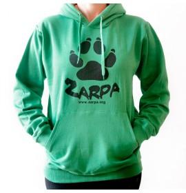 Sudadera Adulto Zarpa - Verde