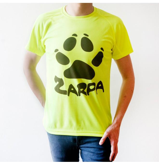 Camiseta de deporte Zarpa - Amarilla