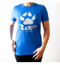 Camiseta manga corta Zarpa - Azul