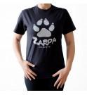 Camiseta manga corta Zarpa - Negra