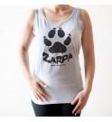 Camiseta tirantes Zarpa - Gris